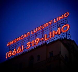 american luxury limousine la billboard